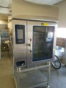 Alto shaam Ctp10 20evh Combitherm Combi Oven W hood Stand