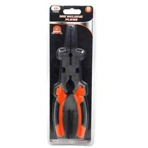 New Mig Welding Multi functions Spring Loaded 8 Pliers Free Shipping