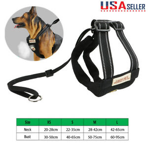 Dog Soft Lead Leash+Harness Girth Vest Strap For Pets Dogs Cats Puppy Breathable