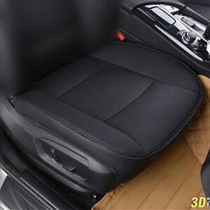 Pu Leather Deluxe Car Cover Seat Protector Cushion Black Front Cover Universal Fits 2014 Camry Se
