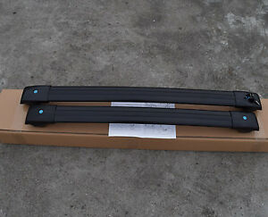 For Jeep Cherokee 2014 2016 2017 2018 2019 Top Roof Rack Cross Bar Black Us Ship