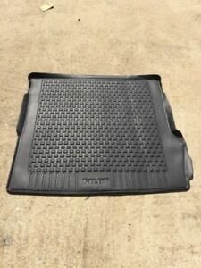 2009 2012 Honda Pilot Rear Trunk Black Rubber Floor Mat Cargo Liner Oem