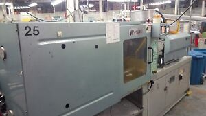 2001 Welltec 104 ton Plastic Injection Molding Machine