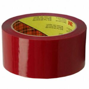 Liquidation 3m Scotch Red 48mmx50m 373 2 5 Mil Box Sealing Tape 72381 6 pack