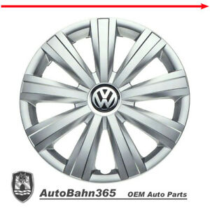 New Genuine Oem Vw Hub Cap Jetta Sedan 2011 2015 9 Spoke Cover Fits 15 Wheel