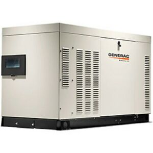 New Generac 22kw Single Phase Liquid Cooled Quietsource Generator Ng lp