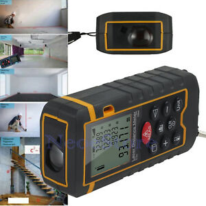 Digital Laser Distance Meter Range Finder New 100m Handheld Measure Diastimeter