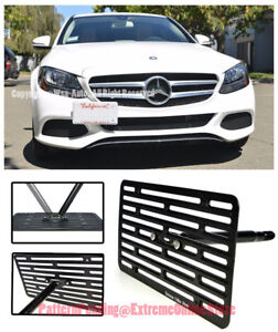 Eos Full Sized Tow Hook License Plate Bracket For 16 up Mb W205 C class Coupe