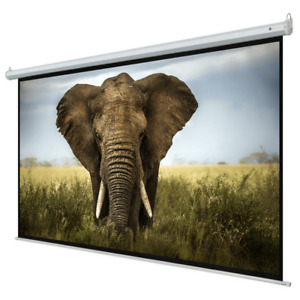 Homegear 110 16 9 Hd Electric Motorized Projector Screen Remote