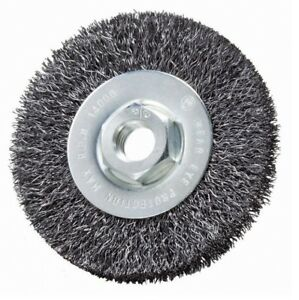 5 Pack 4 X 1 2 X 5 8 11 Crimped Wire Wheel Brush carbon Steel Quantity 5