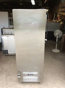 1 Dr Refrigerator Commercial Cooler Deli Bakery Catering W 10 Shelves