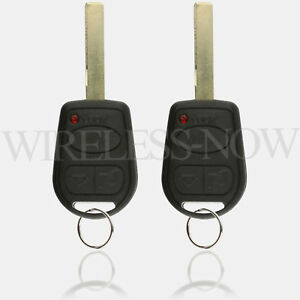 2 Car Key Fob Keyless Remote For 2002 2003 2004 2005 2006 Land Rover Range Rover