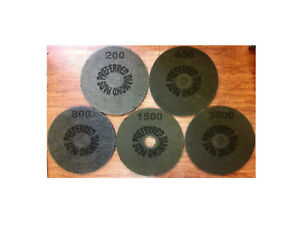 20 Diamond Floor Polishing Pad 200 3000 Grit Concrete Stone Marble Granite