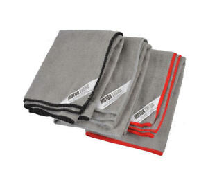Motor Trend 3pc Microfiber Towels Cleaning Drying Polish Washing Cloth For Car