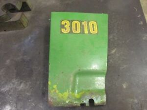 Vintage Rare John Deere 3010 Right Side Front Cultivator Engine Panel Shield