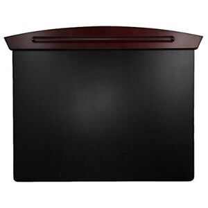 Executive Woodline Ii Desk Pad 25 1 4 X 19 7 8 X 3 4 Mahogany