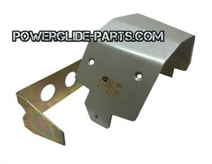 Pgraceshop Powerglide Transmission Sfi Shield 4 1 Safety Silver For Glide