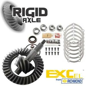 Ford 9 4 56 Ratio Richmond Excel Ring And Pinion Gear Set W Master Bearing Kit