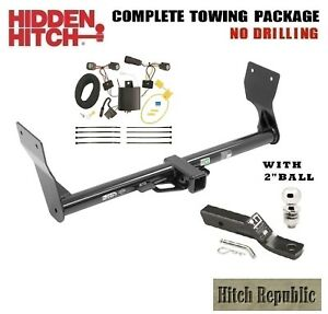 Fits 2015 Ford Edge Titanium Class 3 Trailer Hitch Package W 2 Ball 87684