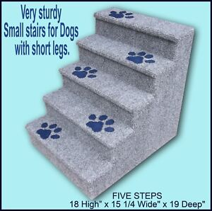 Dog Steps Dogs With Short Legs 18 High X 15 1 4 Wide X 19 Deep