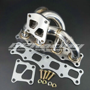 Tubular Manifold For Mitsubishi Lancer Evolution 10 X 4b11 Turbo 2008 2011