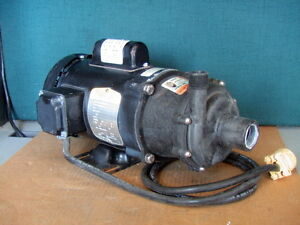 March Mfg Te 5 5k md Seal less Centrifugal Magnetic Drive Pump 1 3hp 1 p Chem