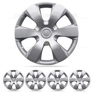 16 Inch Hubcaps Set Of 4 Style Replica Wheel Covers Replacement For Toyota Camry