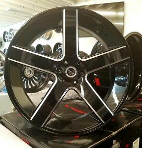 28 Inch Strada Perfetto Rims Wheels Only Fit Chevy Gmc Ford Asanti Forgiato