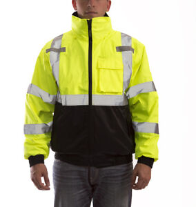 Tingley J26172 Bomber 3 1 Jacket Ansi Class 3 Zip out Liner Waterproof M 4xl