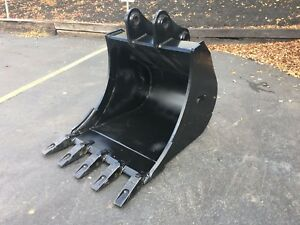New 30 Kobelco Sk60 Heavy Duty Excavator Bucket W Coupler Pins
