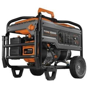 New Industrial Portable Generator 6500w Gasoline Recoil Start Epa csa