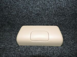 2011 2014 F 150 F150 Oem Extended Cab Tan Rear Center Seat Belt Trim Cover 21