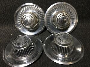 Chevrolet Rally Wheel Center Caps Set Of 4 Chevy Hubcaps Hub Caps Gm 3925805