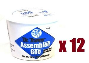 Transmission Assembly Lube Blue Lubegard Dr Tranny Assembly Grease 12 Pcs