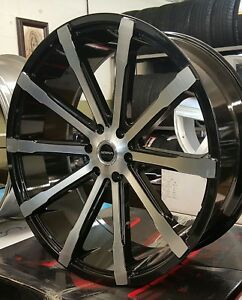 26 Inch Strada Rims Wheels Tires Fits Dodge Ram Obs Chevy 5x127 Dub