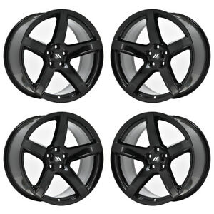 20 Dodge Charger Challenger Srt Hellcat Black Wheels Rims Set 4 2604 Exchange