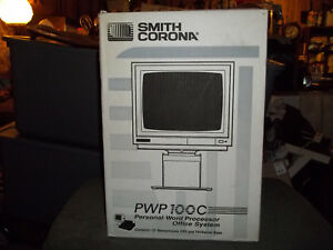 Vintage Smith Corona Personal Word Processor Pwp 100c Monitor