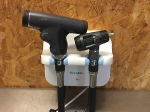 Welch Allyn Gs 777 Wall Otoscope 23810 Ophthalmoscope 11810