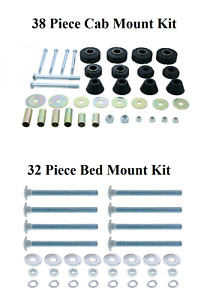 Cab Bed Mount Kit Rad Core Support For 1967 72 Chevy Gmc 1 2 Ton Pickup Trucks