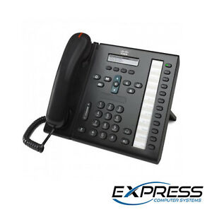 Cisco Cp 6961 c k9 6900 Series Voip Unified Ip Phone
