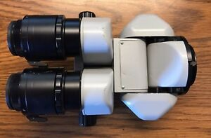 Alcon Surgical Microscope 0 180 Degree Inclinable Binoculars 10x Eyepieces