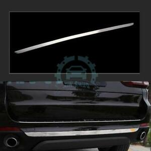 Fit For Bmw X5 F15 2014 15 Stainless Steel Rear Bumper Plate Bumper Cover Sill