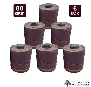 Drum Sander Sanding Wraps rolls 80g For Jet performax 22 44 22 44 Plus pro 6