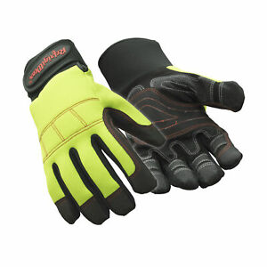 Refrigiwear Waterproof Fiberfill Insulated Fleece Lined Arctic Grip Gloves