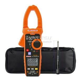 Nktech Digital Clamp Meter Temp Res Freq Ac Dc Voltage Ac Current Backlight Test