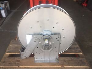 Hannay Stainless Steel Hose Reel 3000 Psi 400 Degree F Will Ship