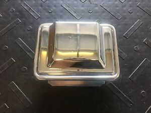 1981 1987 Grand National Gnx T Type Front Bucket Bench Seat Chrome Ash Tray Trim