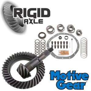4 10 Motive Ring And Pinion Gear Set Bearing Kit Late Gm Chevy 9 5 14 Bolt