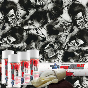 Hydro Dipping Water Transfer Printing Hydrographic Dip Kit Joker Reborn Dd 922