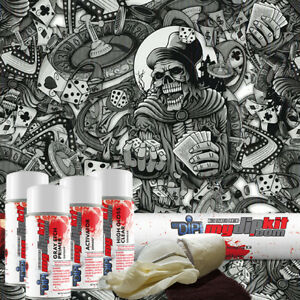 Hydro Dipping Water Transfer Printing Hydrographic Dip Kit High Roller Dd923